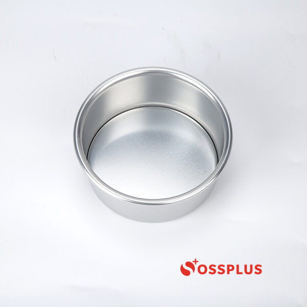 5 inch Deep Round Cake Pan Anodized Removable Bottom front